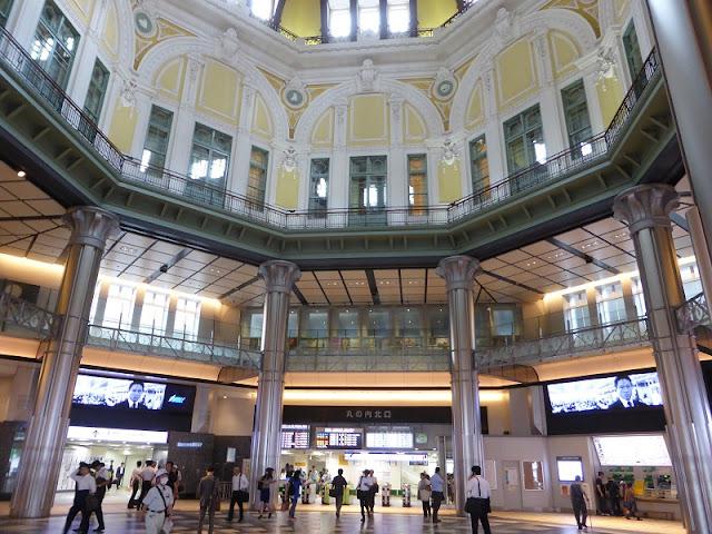 Tokio Station, hall de entrada