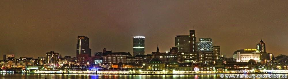 Hamburg Panorama Skyline Hafen
