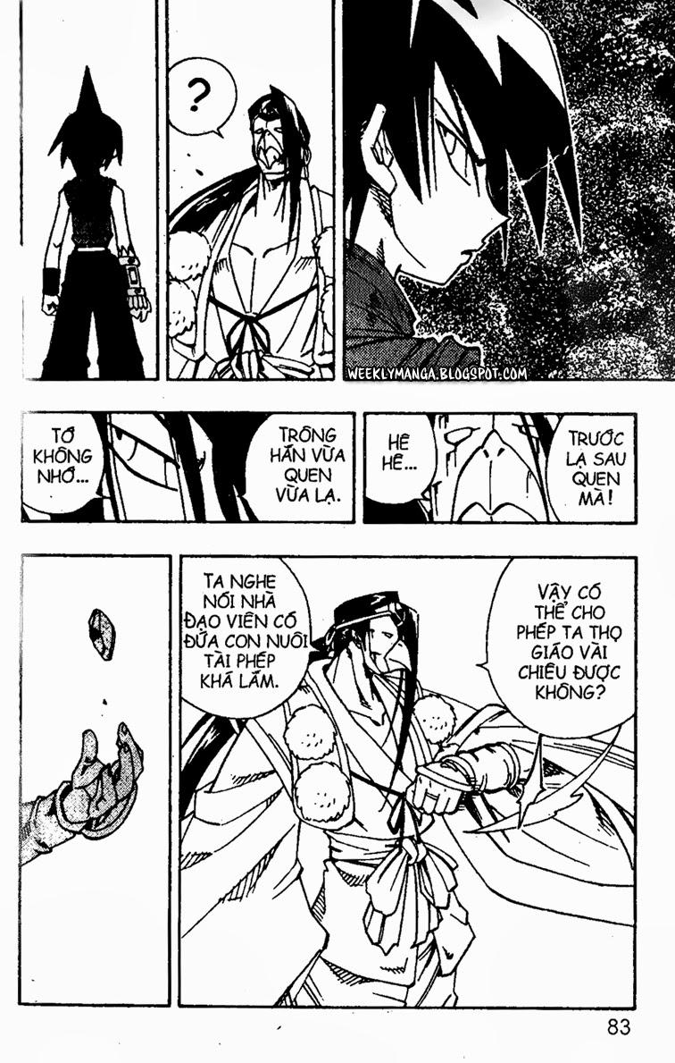 Shaman King [Vua pháp thuật] chap 145 trang 9