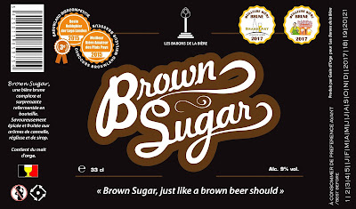 Brown Sugar - étiquette