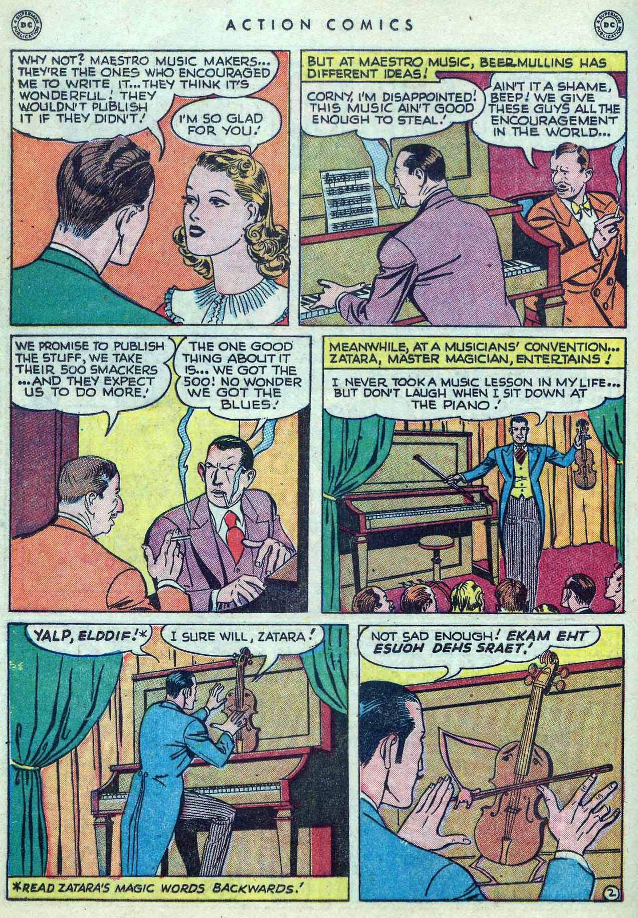 Read online Action Comics (1938) comic -  Issue #127 - 34