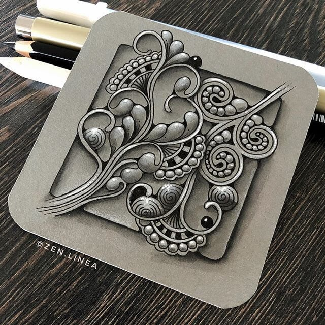 09-Anica-Gabrovec-Zentangle-Drawings-www-designstack-co
