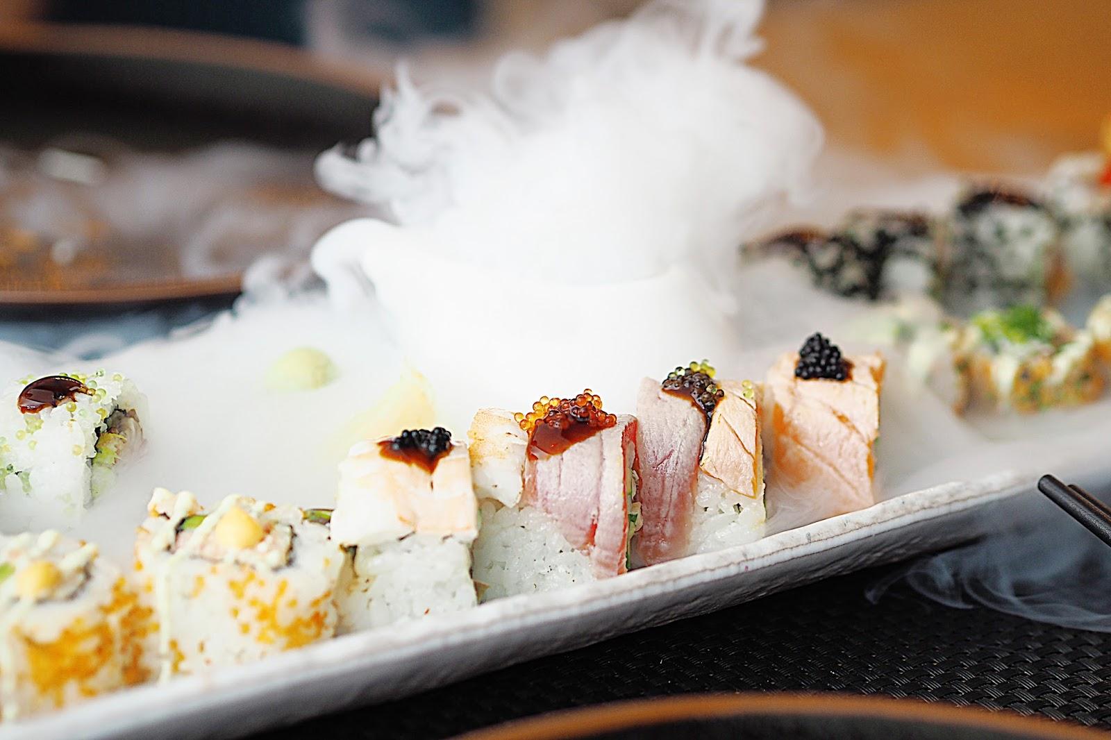 Mixed Maki platter