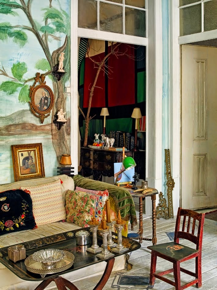 Gypsy Eclectic Home Furnishings: Moon To Moon: The Home Of... Tomas Colaco