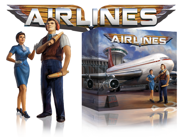 Airlines Box Art Page and Logo by Naomi Robinson © 2016