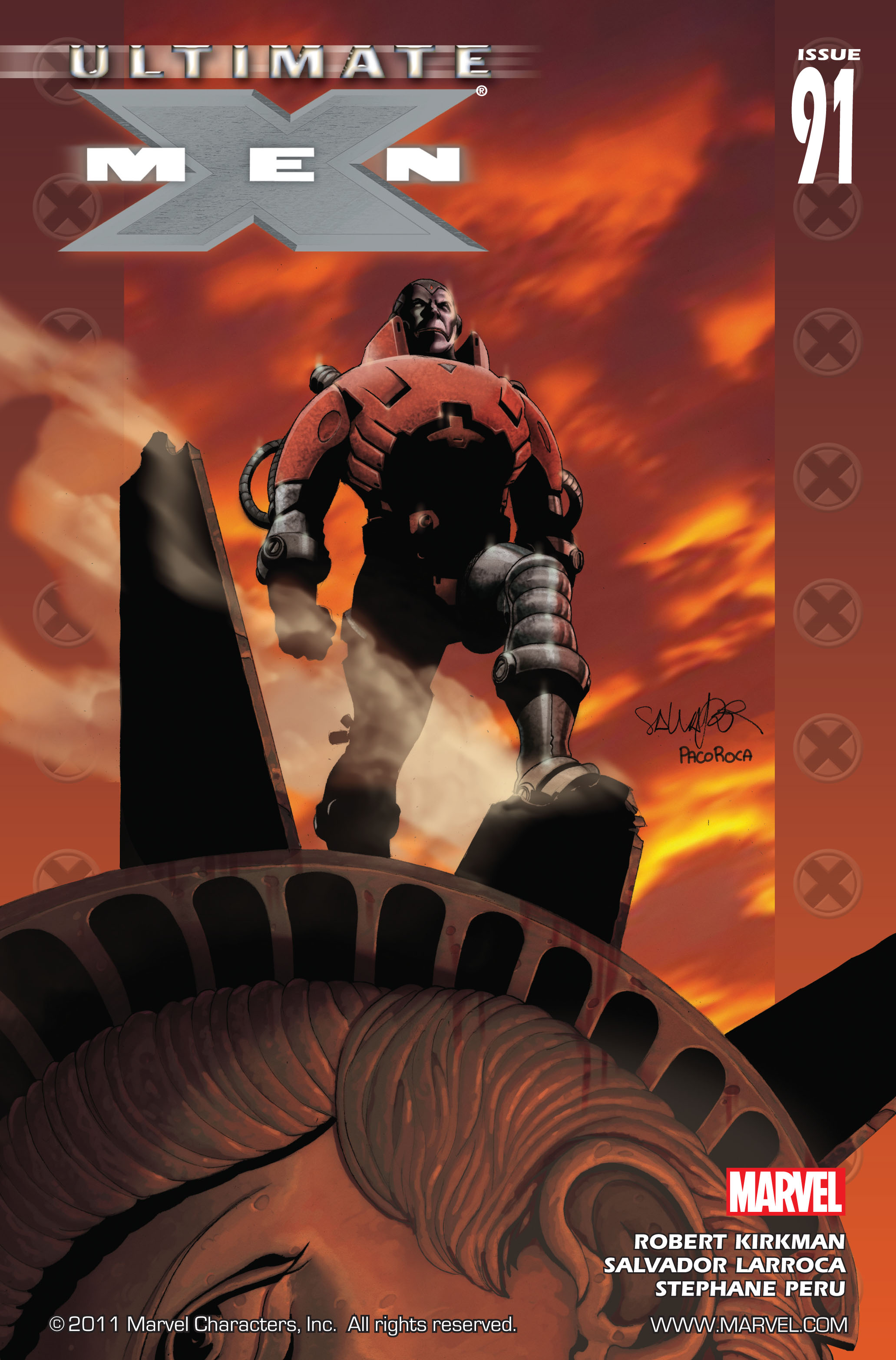 Read online Ultimate X-Men comic -  Issue #91 - 1