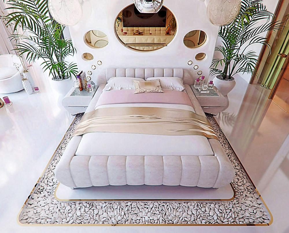 25 Kumpulan Denah Model Desain Gambar Kamar Tidur Minimalis Modern