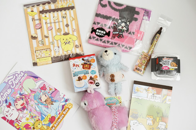 Unboxing of Kawaii Monthly Box from Tokyo: YumeTwins  via  www.productreviewmom.com