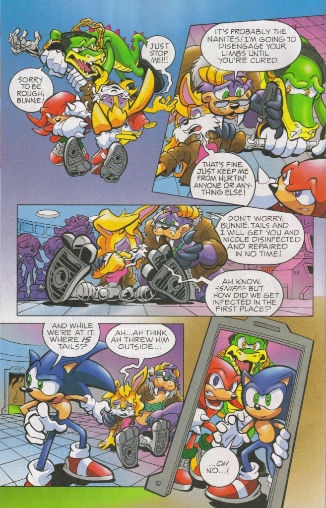 Read online Sonic The Hedgehog comic -  Issue #168 - 13