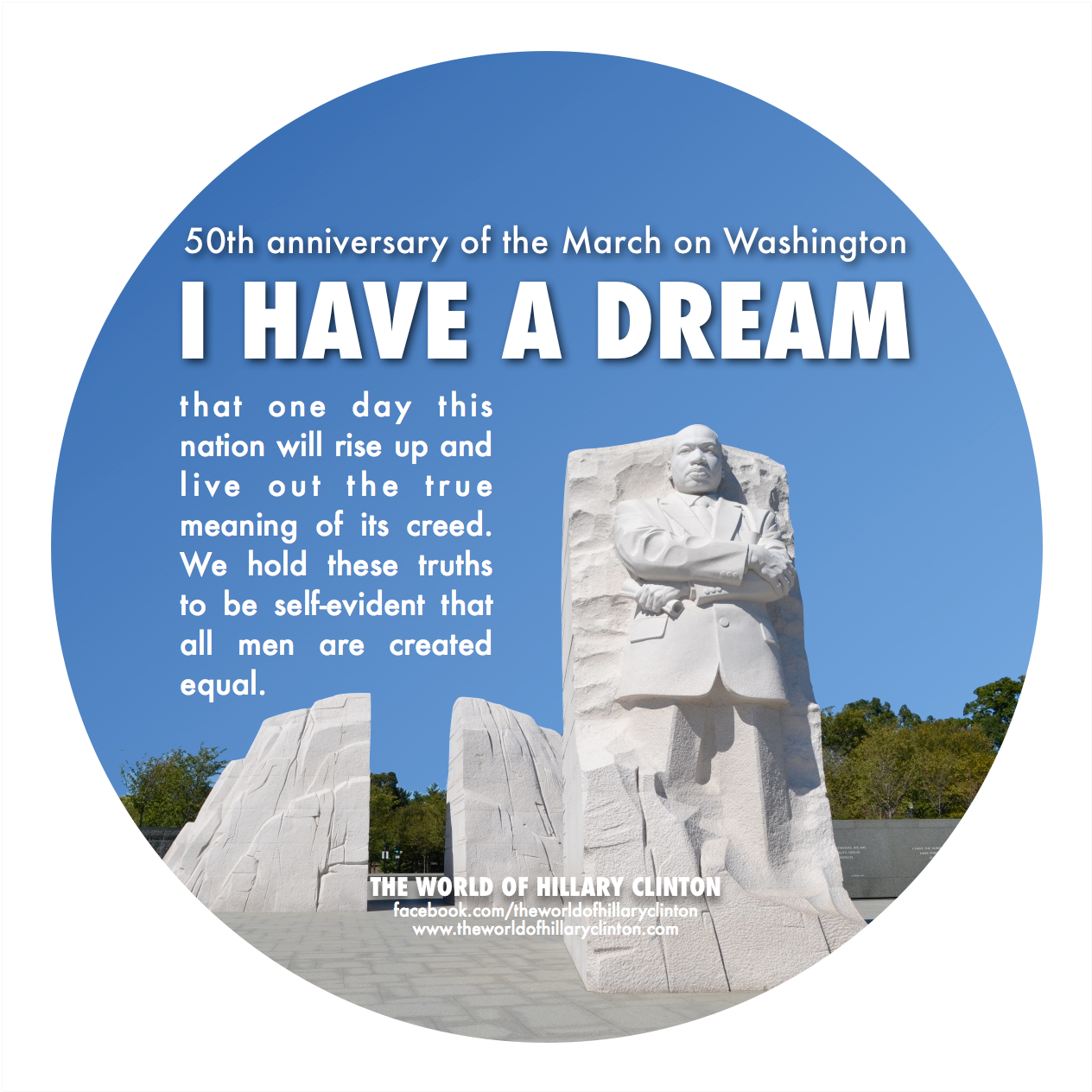 martin luther king i have a Martin luther king jr's 'i have a dream' speech is the most famous portion of the august 28, 1963, march on washington for jobs and freedom.