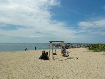 suasana pantai Pulau kapuk 2