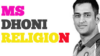 ms dhoni religion