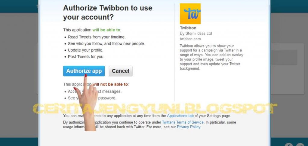 twibbon