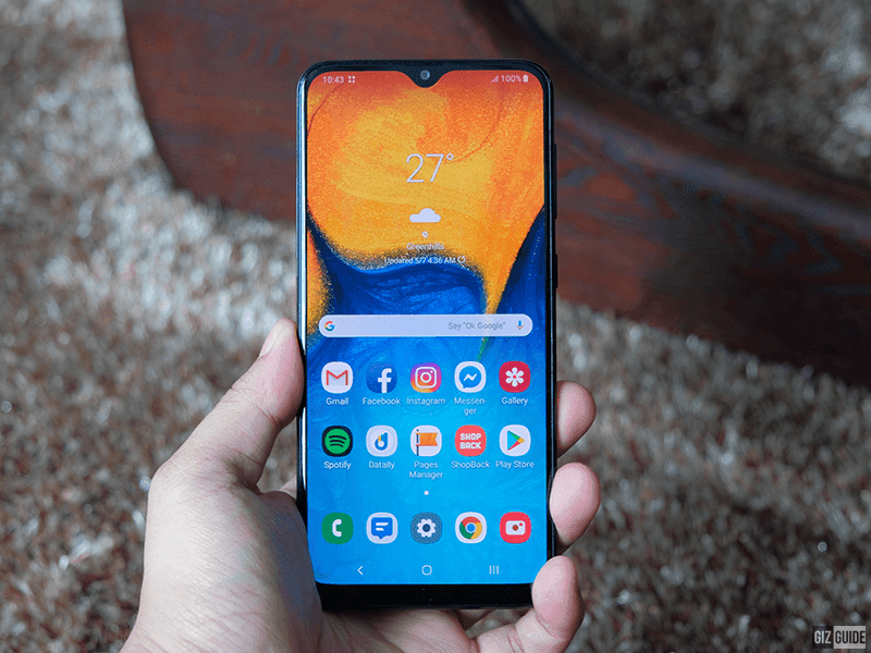 Samsung Galaxy A20 PH models gets Android 10 OTA update
