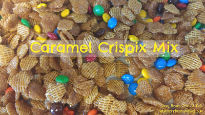 Tailgate Time! 20+ Favorite Recipes - Caramel Crispix Mix