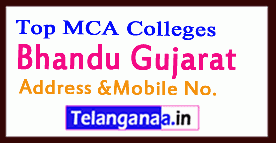 Top MCA Colleges in Bhandu Gujarat