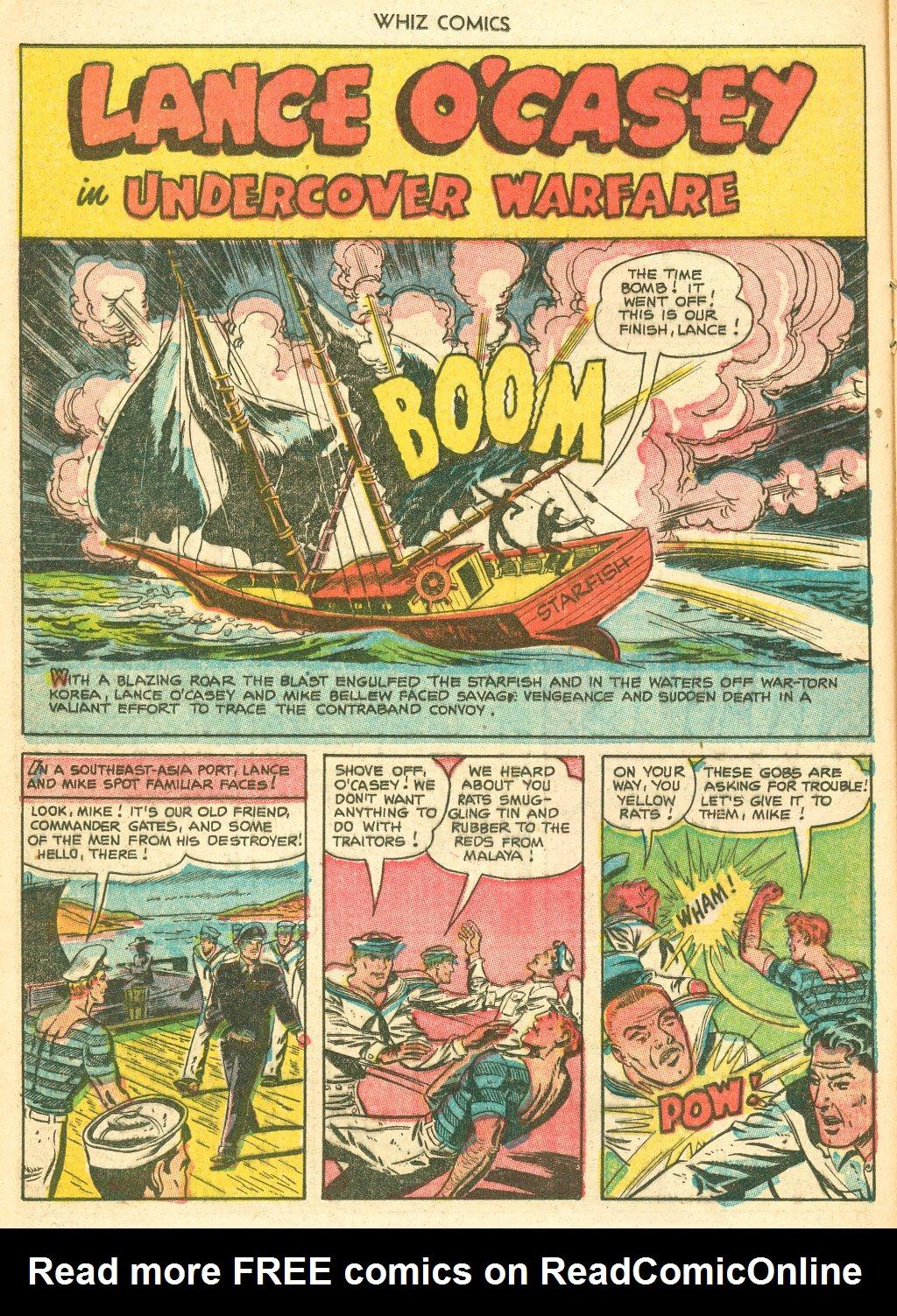 WHIZ Comics #155 #156 - English 16
