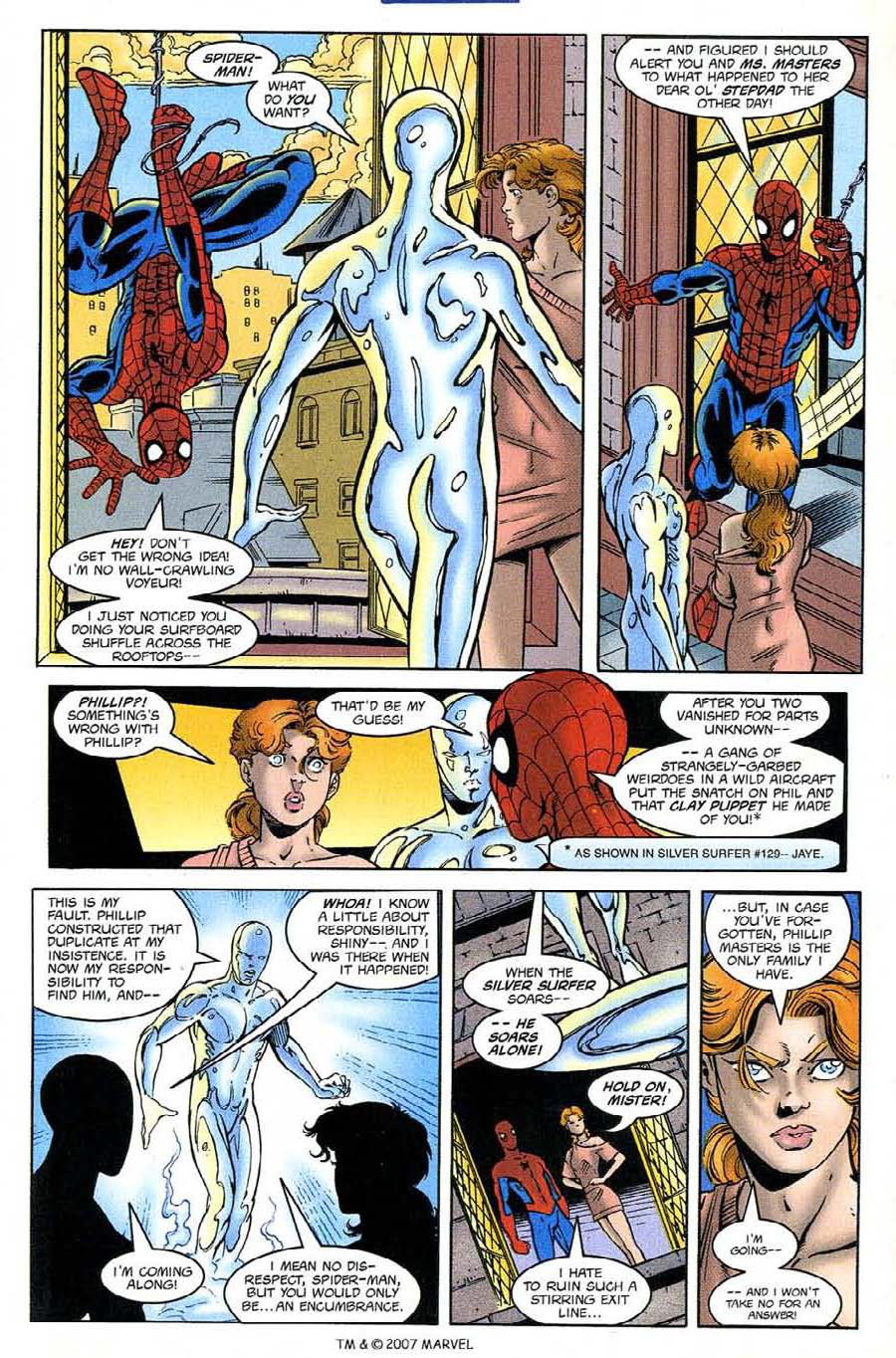 Read online Silver Surfer (1987) comic -  Issue #132 - 13