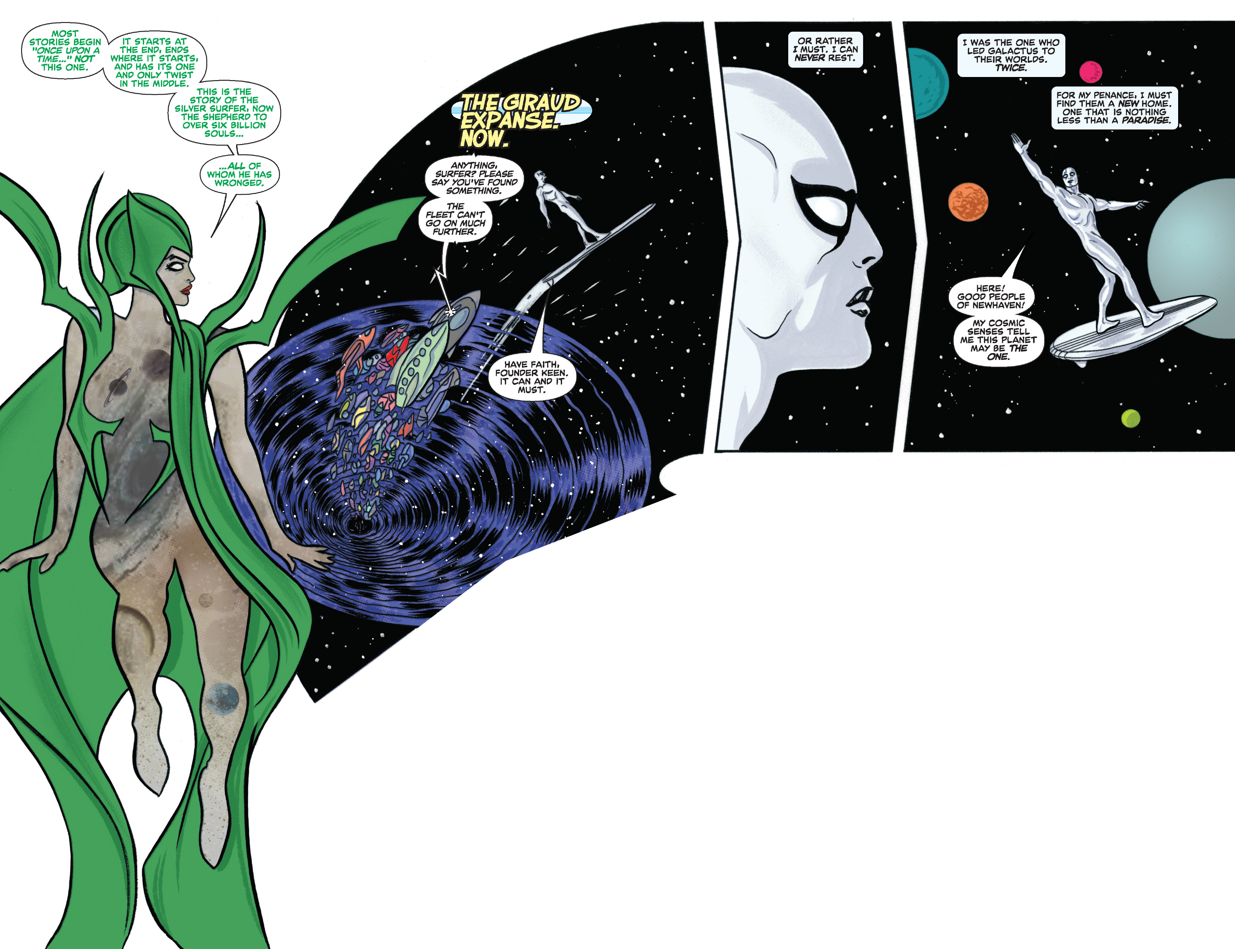 Read online Silver Surfer (2014) comic -  Issue #11 - 3