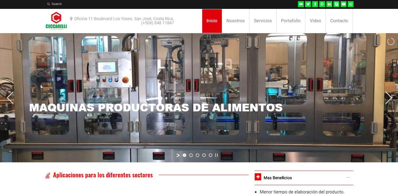 distribuidor de maquinas empaquetadoras y productoras de alimentos en Latinoamerica