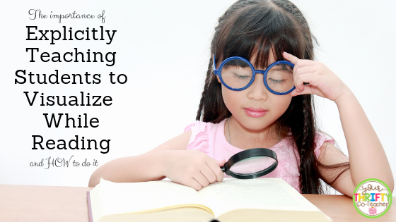 Explicitly teaching visualization through mini lessons can be extremely beneficial for students who can not create pictures in their mind as they read. Using mentor texts or books they are reading is a simple way to use resources you already have available to teach visualization.