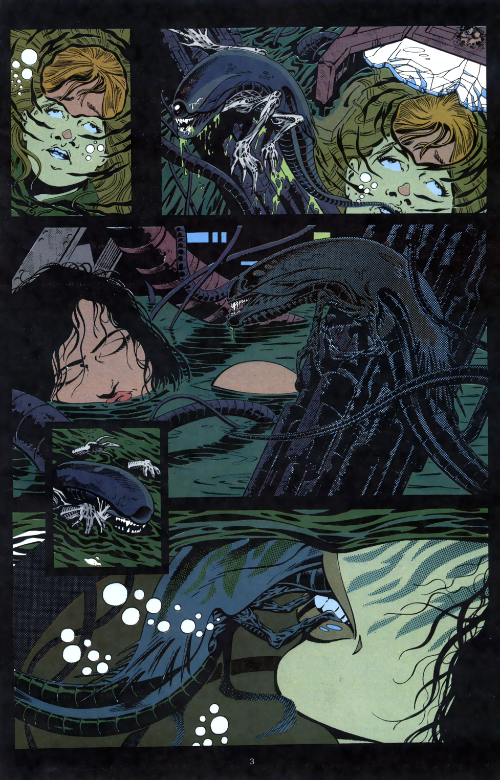 3d Xenomorph Impregnation Porn Comic - How the comics showed Ripley get a queen in her ...