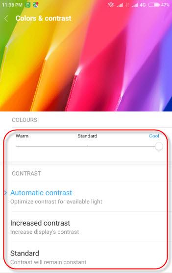 Cara Mengatur Warna Layar Xiaomi Miui 7 Dan 8 Biar Tidak Berwarna Kekuningan
