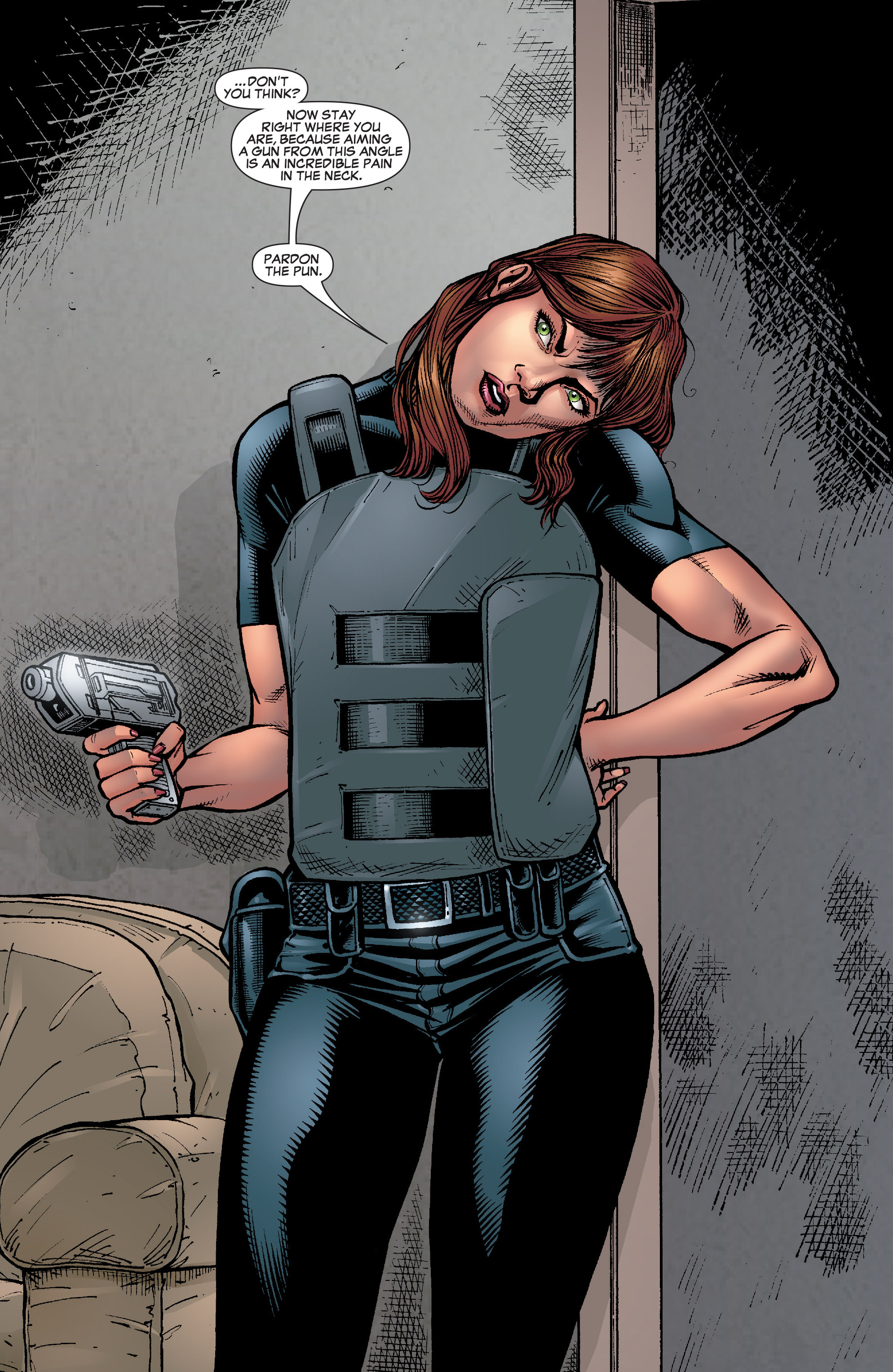 Read online She-Hulk (2005) comic -  Issue #22 - 22