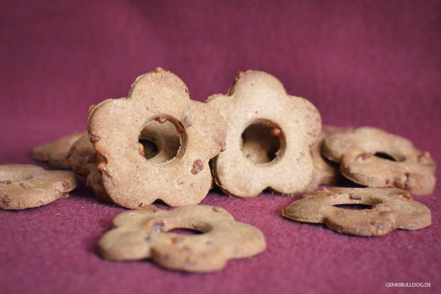 Rezept: Apfel-Käse Kekse für Hunde