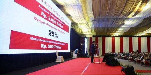 Prabowo Bahagia KPK Ungkap Keuangan Negara Bocor Rp 2.000 Triliun