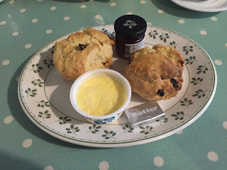 Rufford Old Hall scones