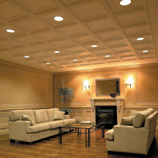 coffered false ceiling