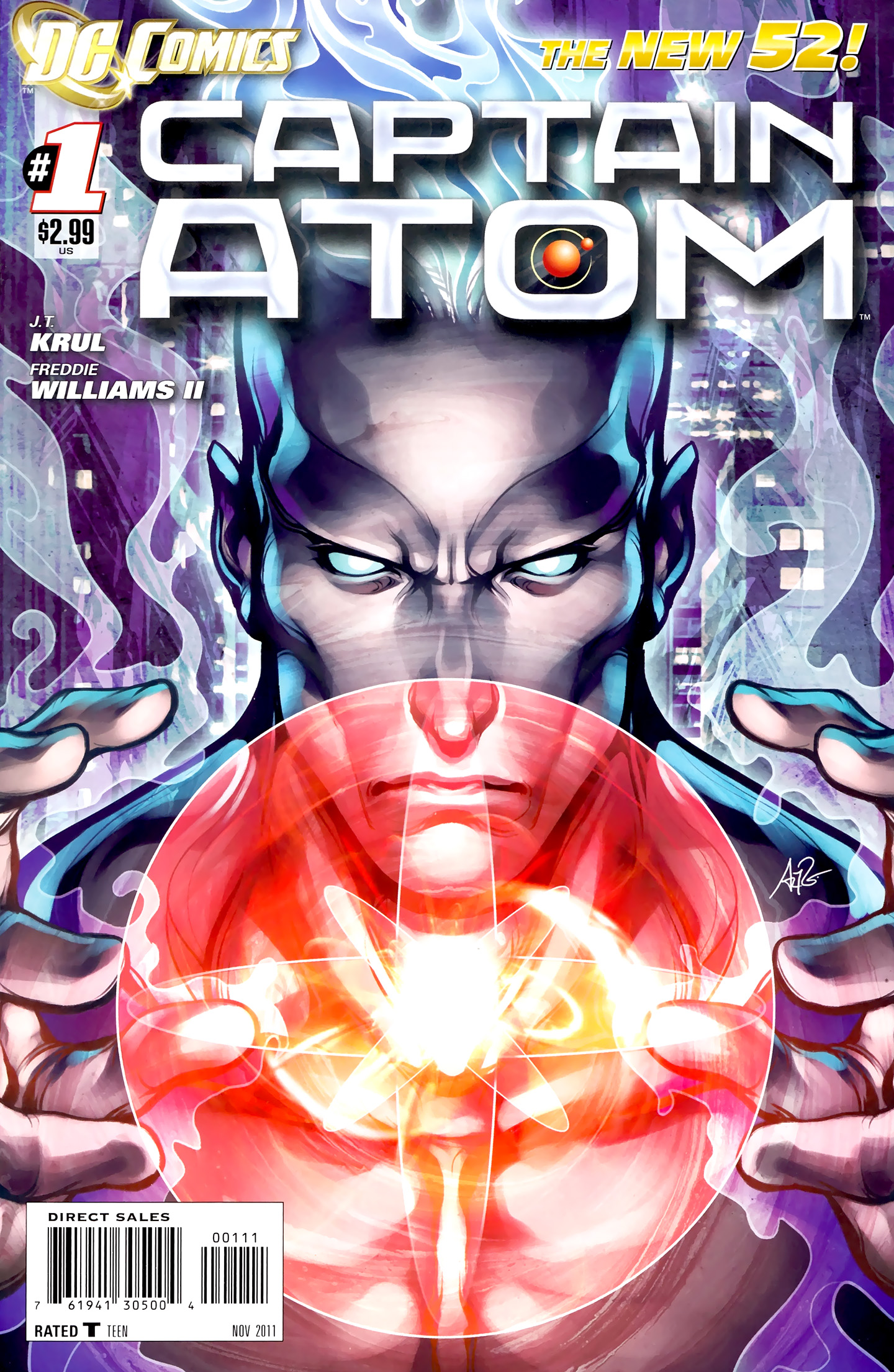 Captain Atom (2011) 1 Page 1
