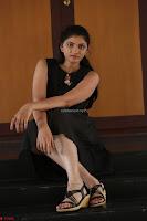 Khanishka new telugu actress in Black Dress Spicy Pics 29.JPG