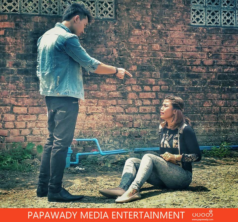 Ei Chaw Po's New Movie A Pyin Sar Behind The Scenes Snapshots