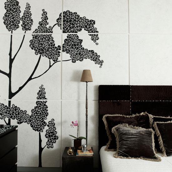 Bedroom Wallpaper Designs Black And White Bedroom Furniture For Teenagers Bedroom Door Curtains Diy Kids Bedroom Decor: Beautiful Black And White Inspiration