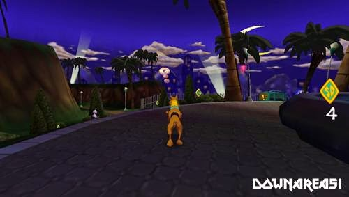 Scoby Doo PSP Game Pitcure Screenshot