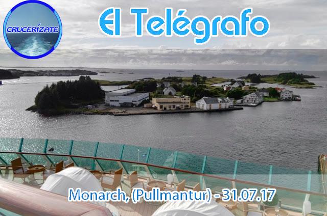 EL TELÉGRAFO - DÍA TERCERO - HAUGESUND - FIORDOS NORUEGOS