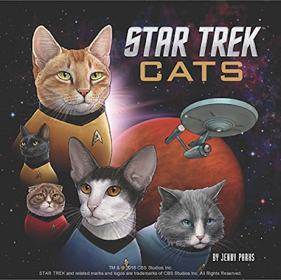 Star Trek Cats, by Jenny Parks