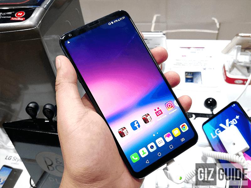 LG may bring the upgraded V30s at MWC 2018!