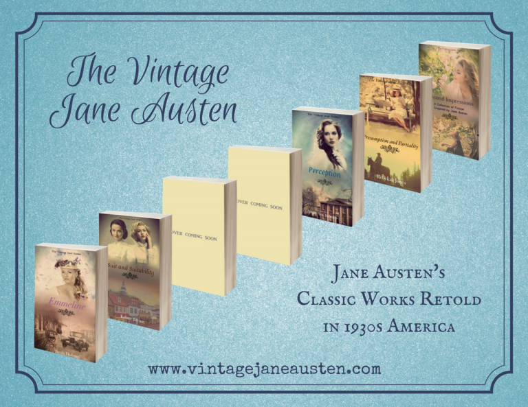 The Vintage Jane Austen book series