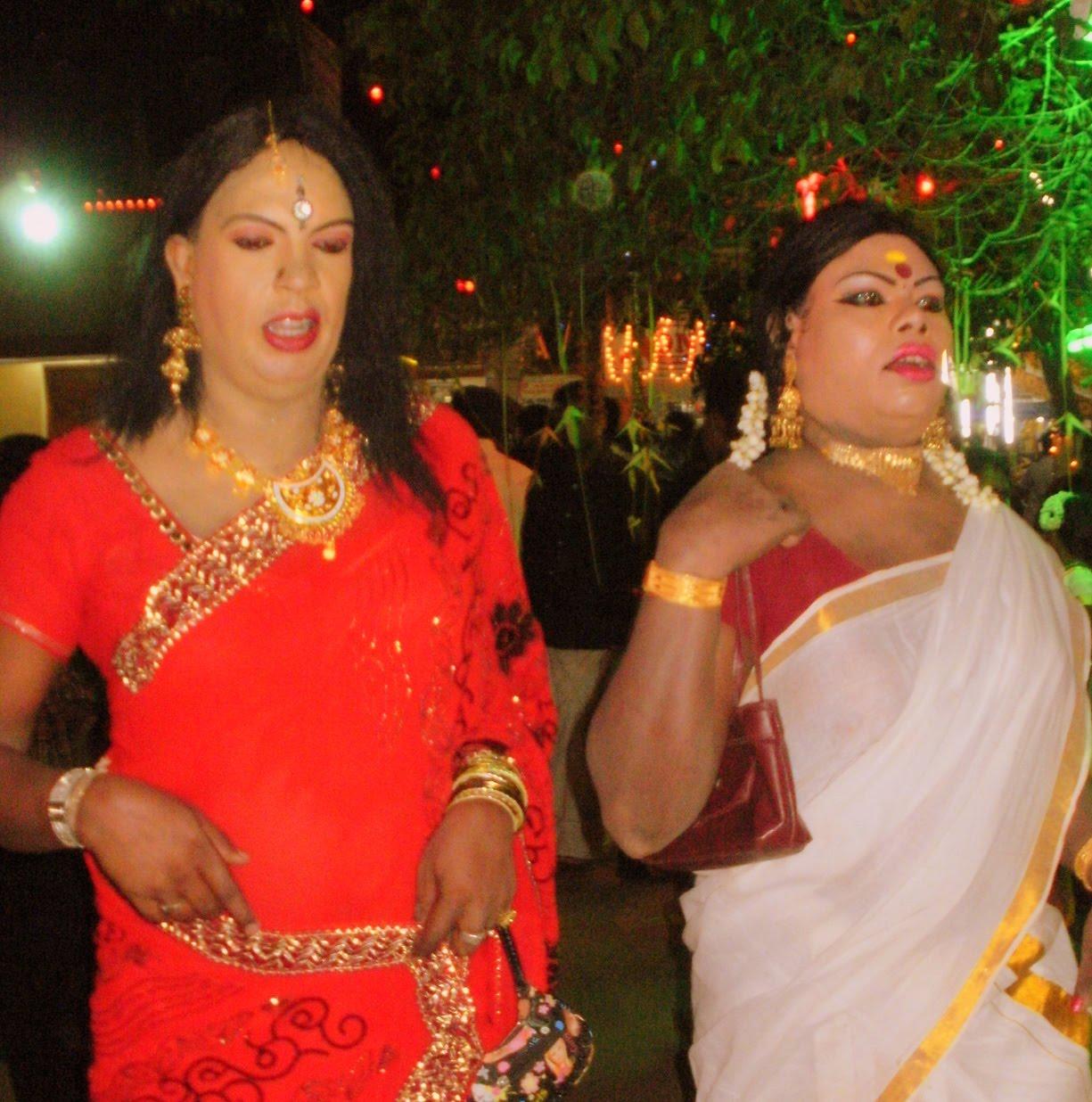 Chamayavilakku Photos: Men In Drag: Beautiful Indian Women