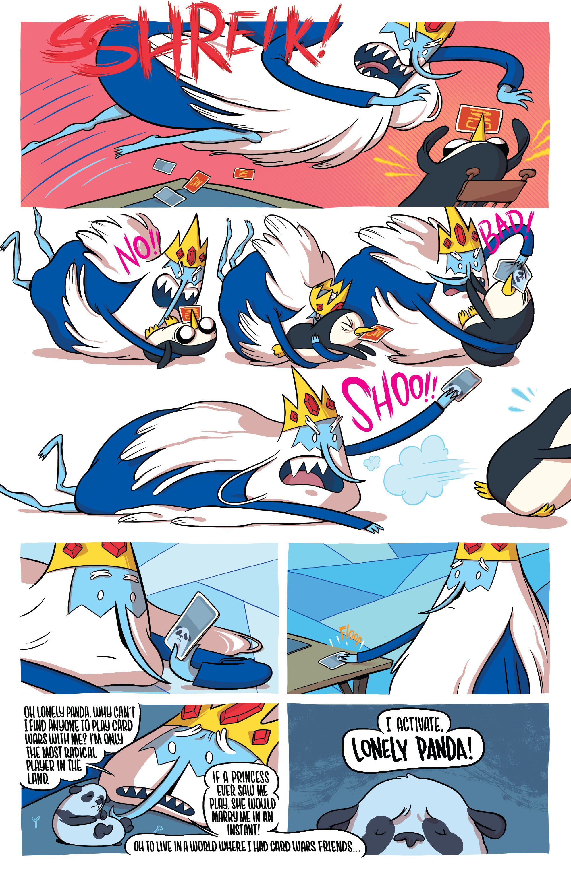 Read online Adventure Time Fionna and Cake Card Wars comic -  Issue #1 - 5