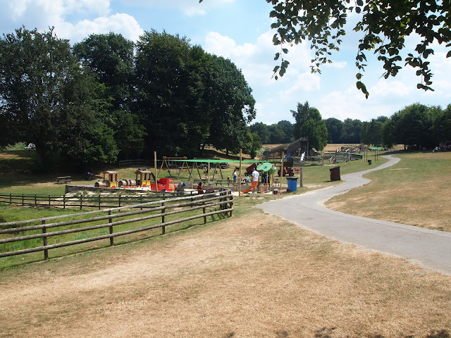 Godstone Farm, Surrey Review - Outdoor Play Area