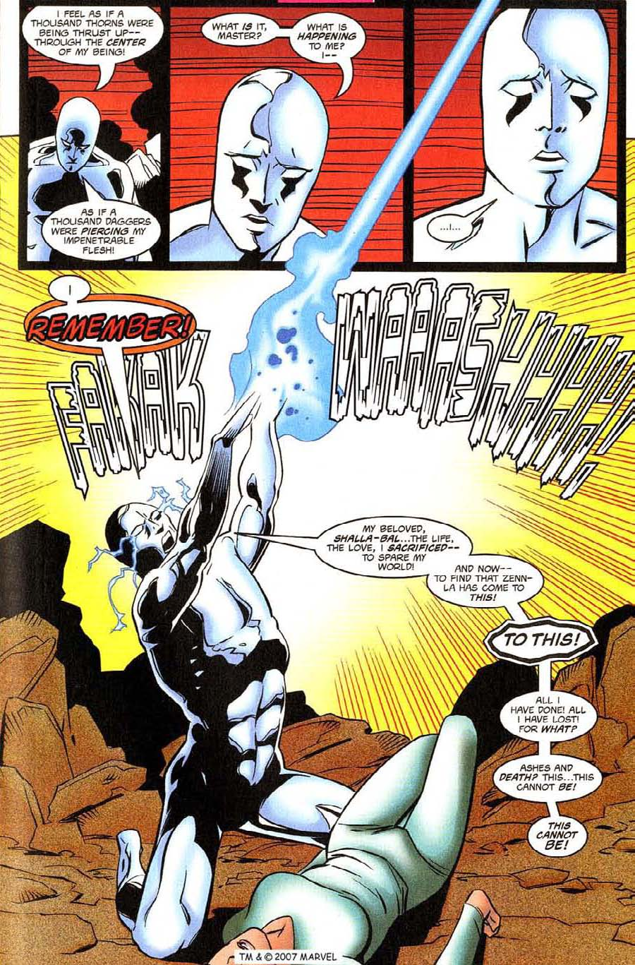 Read online Silver Surfer (1987) comic -  Issue #130 - 23