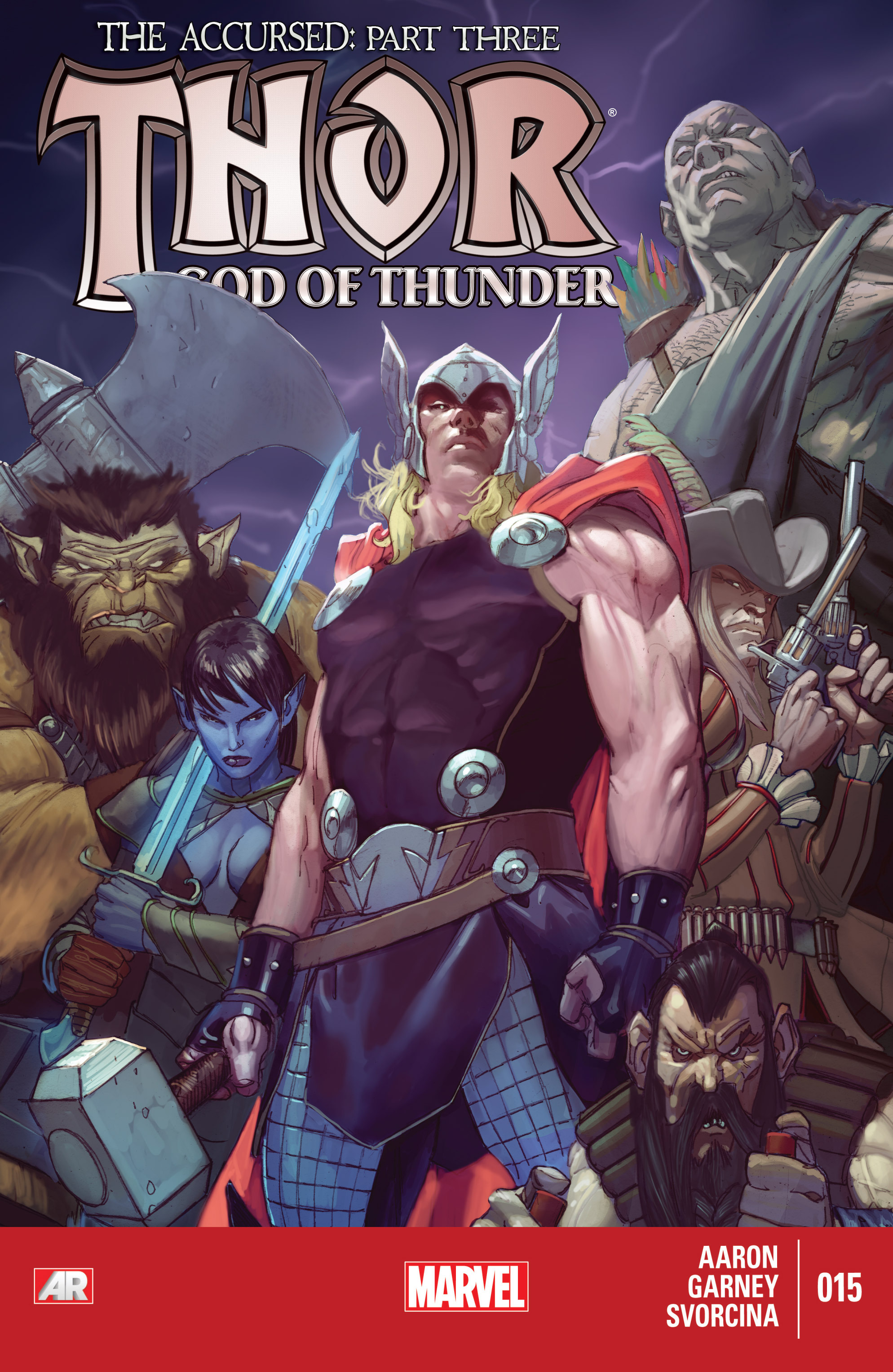Thor: God of Thunder 15 Page 1