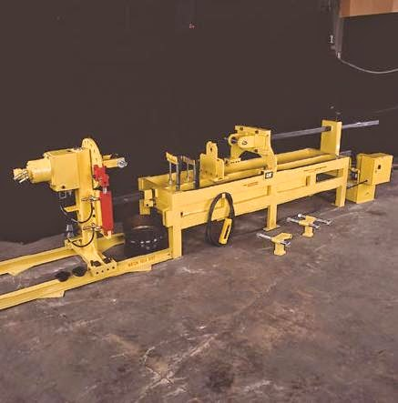 Hydraulic Cylinder Repair Bench ( Most Popular Model ) | HEMS Ltd's