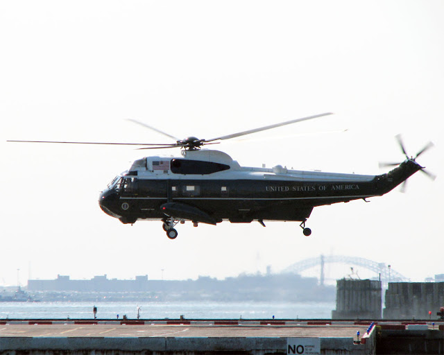 Marine One, Downtown Manhattan Heliport, New York
