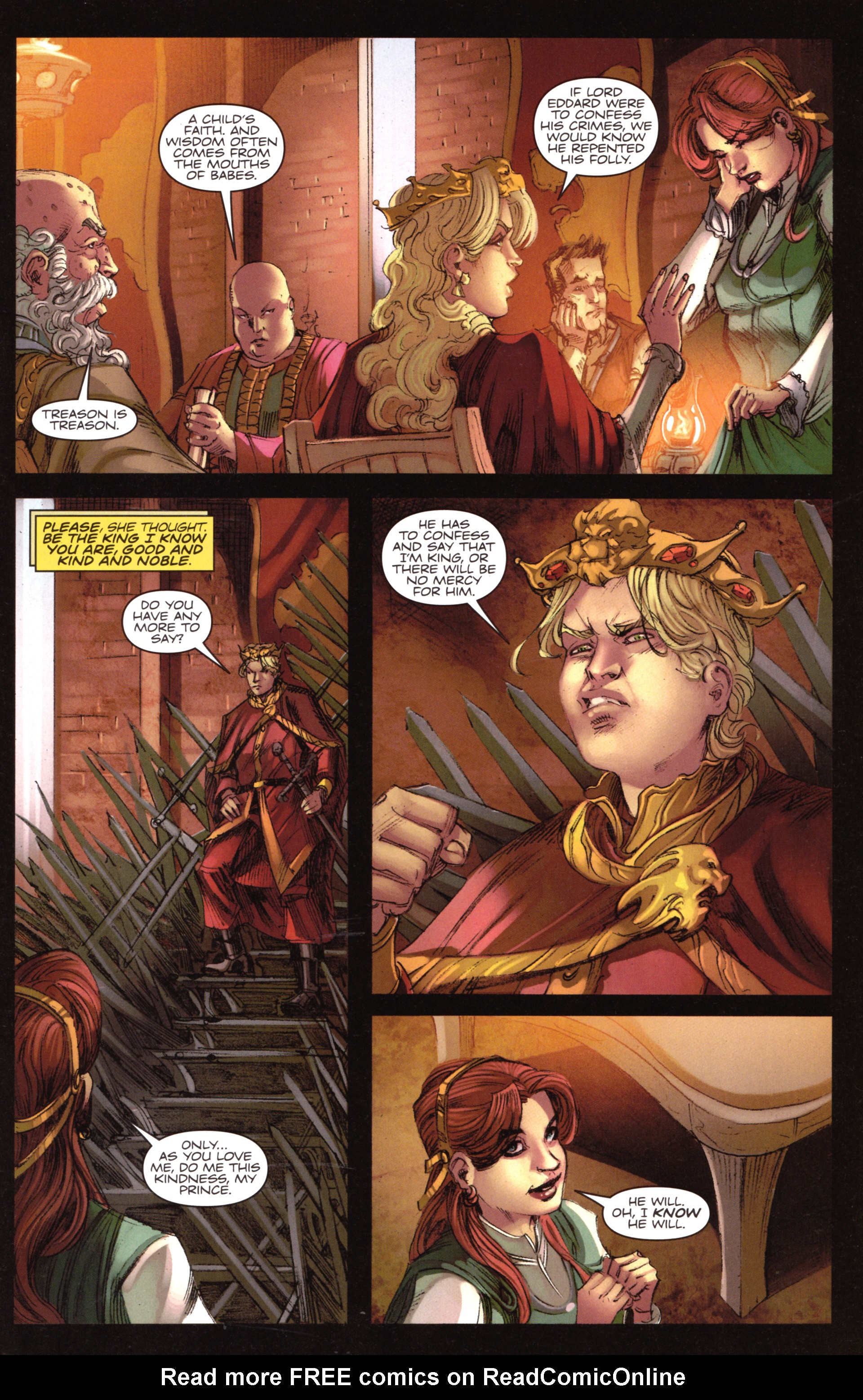 Read online A Game Of Thrones comic -  Issue #18 - 23