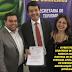 No Palácio dos Bandeirantes, Prefeito assina R$ 2,2 milhões com governo de SP
